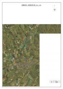 北富給水区全体図(第2工区)A3