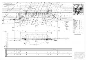 橋梁添架工一般図
