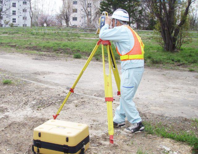 測量部門イメージ写真